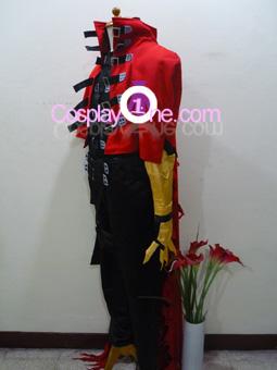 Vincent Valentine Cosplay Costume from Final Fantasy VII 7 Side