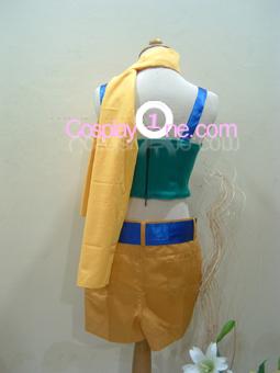 Yufie  Kisaranagi  Cosplay Costume from Final Fantasy VII 7 Back