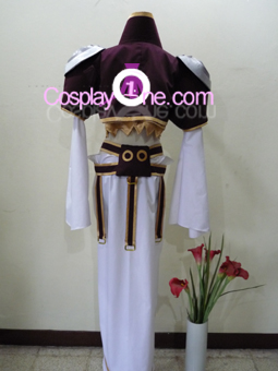 Kuja Final Fantasy Dissidia Cosplay Costume Back R