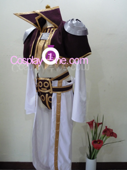 Kuja Final Fantasy Dissidia Cosplay Costume Side