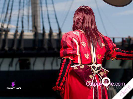 Alice kingdom hearts Cosplay Costume