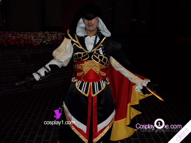 Altair Armor Cosplay Costume Photo Client