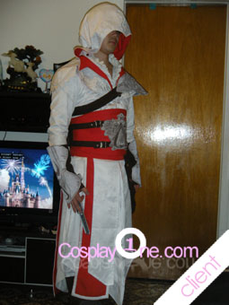 Ezio Auditore da Firenze Cosplay COstume