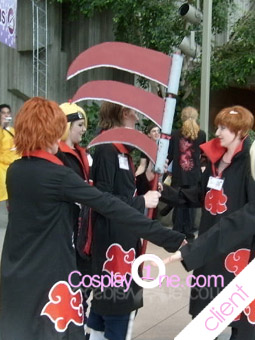 Akatsuki Cosplay Costume Photo Client