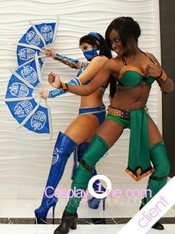 Kitana Mortal Combat Cosplay