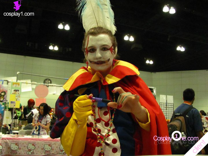 Kefka from Final Fantasy VI Cosplay Costume Client Photos